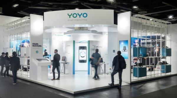 YOYO-Messestand-Orgatec-2018