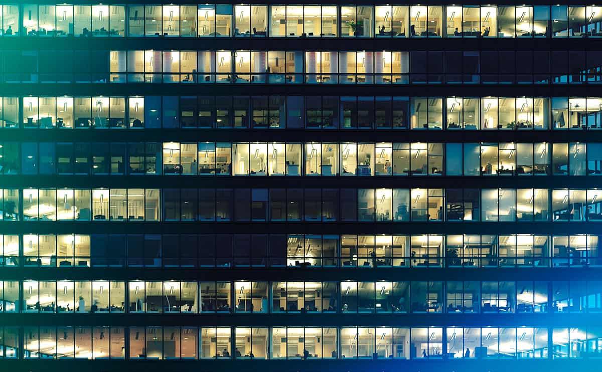 Digital vernetzte Bürowelten