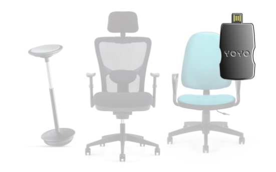YOYO chairs with laser