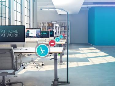 Smart Office - Workplace Management - Ergonomie am Arbeitsplatz - YOYO